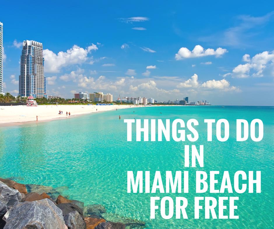 Miami for Free?